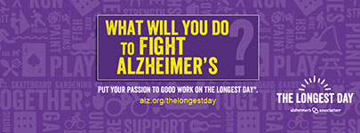 What will you do to fight Alzheimer's?