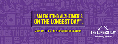 I am fighting Alzheimer's on The Longest Day.