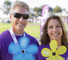 """I'm living with dementia and I walk to help spread the word that no matter what type of dementia you have, the Alzheimer's Association is there to help."" -Steven B."