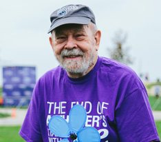 """I walk to let folks know that many of us living with Alzheimer's can still fight. I want to raise awareness while I still can."" -Dan W."