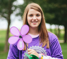 """Participating in Walk to End Alzheimer's gives me hope for my generation."" -Kendall P."